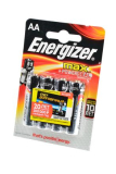 Батарейка Energizer MAX+Power Seal LR6 4шт. (АА)