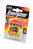 Батарейка Energizer MAX+Power Seal LR03 4шт. (ААА)
